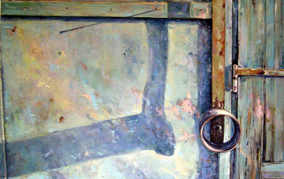 Fragment  80 x 120 cm olej, płótno